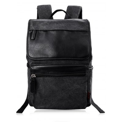 Douguyan 15.6 inch BackpackMens Bags<br>Douguyan 15.6 inch Backpack<br><br>Brand: Douguyan<br>Style: Casual<br>Material: Canvas,PU<br>Color: Black,Brown<br>Product weight: 0.890 kg<br>Package weight: 0.960 kg<br>Product Size(L x W x H): 33.00 x 13.00 x 45.00 cm / 12.99 x 5.12 x 17.72 inches<br>Package Size(L x W x H): 34.00 x 10.00 x 35.00 cm / 13.39 x 3.94 x 13.78 inches<br>Packing List: 1 x Douguyan Backpack