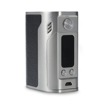 Wismec Reuleaux RX300 TC Box Mod with Leather StickerTemperature Control Mods<br>Wismec Reuleaux RX300 TC Box Mod with Leather Sticker<br><br>Accessories type: MOD<br>APV Mod Wattage: 300w<br>APV Mod Wattage Range: Over 200W<br>Battery Form Factor: 18650<br>Battery Quantity: 4pcs  ( not included )<br>Brand: Wismec<br>Material: Zinc Alloy, Leather<br>Mod: Temperature Control Mod,Temperature Control Mod,VV/VW Mod<br>Model: Reuleaux RX300<br>Package Contents: 1 x Wismec Reuleaux RX300 TC Box Mod, 1 x USB Cable, 2 x Sticker, 1 x English User Manual<br>Package size (L x W x H): 13.00 x 8.90 x 6.00 cm / 5.12 x 3.5 x 2.36 inches<br>Package weight: 0.454 kg<br>Product size (L x W x H): 8.20 x 5.80 x 4.20 cm / 3.23 x 2.28 x 1.65 inches<br>Product weight: 0.256 kg<br>Temperature Control Range: 100 - 300 Deg.C / 200 - 600 Deg.F<br>Type: Electronic Cigarettes Accessories