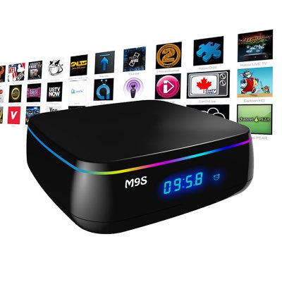 M9S MIX Smart TV Android BoxTV Box &amp; Mini PC<br>M9S MIX Smart TV Android Box<br><br>5G WiFi: Yes<br>Audio format: AC3, MP3, AAC, APE, DTS, FLAC, HD, OGG, TrueHD, WMA<br>Bluetooth: Bluetooth4.0<br>Color: Black<br>Core: Octa Core<br>CPU: Amlogic S912<br>Decoder Format: H.265<br>DVD Support: Yes<br>External Subtitle Supported: No<br>GPU: ARM Mali-T820MP3<br>HDMI Function: HDCP, CEC<br>HDMI Version: 1.4<br>Interface: AV, HDMI, RJ45, DC Power Port, USB2.0<br>Language: Multi-language<br>Max. Extended Capacity: 32G<br>Model: MIX<br>Other Functions: 3D Video, 3D Games<br>Package Contents: 1 x M9S MIX TV Box, 1 x Remote Control, 1 x HDMI Cable, 1 x Power Adapter, 1 x English Manual<br>Package size (L x W x H): 18.50 x 11.50 x 7.00 cm / 7.28 x 4.53 x 2.76 inches<br>Package weight: 0.4700 kg<br>Photo Format: BMP, JPEG, PNG, TIFF<br>Power Comsumption: 5V 2A<br>Power Supply: Charge Adapter<br>Power Type: External Power Adapter Mode<br>Product size (L x W x H): 10.00 x 10.00 x 3.50 cm / 3.94 x 3.94 x 1.38 inches<br>Product weight: 0.3500 kg<br>RAM: 2G RAM<br>RAM Type: DDR3<br>RJ45 Port Speed: Max. 100M<br>ROM: 16G ROM<br>Support 5.1 Surround Sound Output: Yes<br>System: Android 6.0<br>System Bit: 64Bit<br>Type: TV Box<br>Video format: ASF, DAT, 4K x 2K, FLV, AVI, ISO, MKV, MOV, MPEG, MPG, RM, RMVB, TS, WMV, VOB
