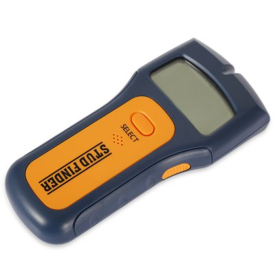 3 in 1 Stud Scanner AC Wire Finder Wood Metal DetectorTesters &amp; Detectors<br>3 in 1 Stud Scanner AC Wire Finder Wood Metal Detector<br><br>Package Contents: 1 x Stud Finder ( with Battery ), 1 x English User Manual<br>Package size (L x W x H): 23.00 x 13.00 x 4.50 cm / 9.06 x 5.12 x 1.77 inches<br>Package weight: 0.2100 kg<br>Product size (L x W x H): 15.50 x 7.00 x 3.00 cm / 6.1 x 2.76 x 1.18 inches<br>Product weight: 0.1240 kg<br>Special function: Stud Scanner AC Wire Finder Wood Metal Detector