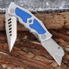 best 420 Stainless Steel Frame Lock Two-blade Folding Knife for Collection