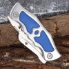 420 Stainless Steel Frame Lock Two-blade Folding Knife for Collection photo