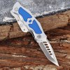420 Stainless Steel Frame Lock Two-blade Folding Knife for Collection for sale