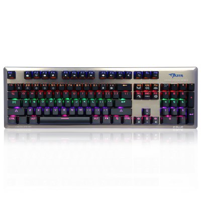 E - 3LUE K727 Mechanical Keyboard Gaming UsedKeyboards<br>E - 3LUE K727 Mechanical Keyboard Gaming Used<br><br>Anti-ghosting Number: All<br>Brand: E - 3LUE<br>Cable Length (m): 2M<br>Coding Supported: Yes<br>Color: Black,White<br>Connection: USB2.0<br>Features: Gaming<br>Interface: Wired<br>Keyboard Lifespan ( times): 50 million<br>Keyboard Switch Brand: XINDA<br>Material: ABS<br>Model: K727<br>Mouse Macro Express Supported: No<br>Package Contents: 1 x E - 3LUE K727 Mechanical Gaming Keyboard, 1 x Bilingual Manual in English and Chinese<br>Package size (L x W x H): 50.00 x 19.00 x 4.00 cm / 19.69 x 7.48 x 1.57 inches<br>Package weight: 1.200 kg<br>Power Supply: USB Port<br>Product size (L x W x H): 45.00 x 14.00 x 2.50 cm / 17.72 x 5.51 x 0.98 inches<br>Product weight: 0.954 kg<br>Response Speed: 3ms<br>System support: Windows 2000, Mac OS, Linux, IOS, Android, Nintendo, Windows, Windows 2003, Windows 7, Windows 8, Windows 95, Windows 10, Windows 98SE, Windows ME, Windows NT, Windows Vista, Windows XP, Windows 98<br>Type: Keyboard