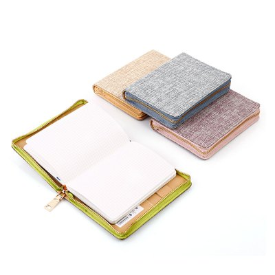 Delicate Linen NotebookNotebooks &amp; Pads<br>Delicate Linen Notebook<br><br>Type: Others<br>Material: Paper<br>Product weight: 0.280 kg<br>Package weight: 0.362 kg<br>Product size (L x W x H): 14.20 x 10.30 x 2.00 cm / 5.59 x 4.06 x 0.79 inches<br>Package size (L x W x H): 22.00 x 25.00 x 3.00 cm / 8.66 x 9.84 x 1.18 inches<br>Package Contents: 1 x Notebook