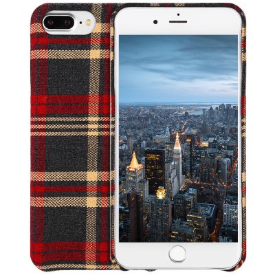 Luanke Fabric Phone Cover Case Shell for iPhone 7 Plus
