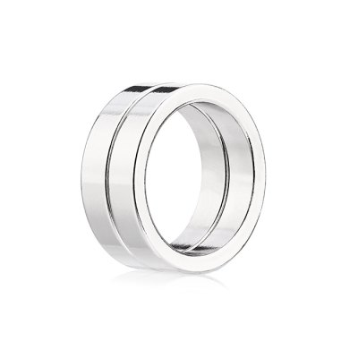 25 x 25 x 5mm N52 Strong NdFeB Ring Style Magnet