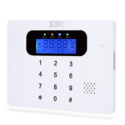 XSC - 30C GSM Home Alarm SystemEmergency Kit<br>XSC - 30C GSM Home Alarm System<br><br>Battery: 4.2V 350mAh Lithium<br>Brand: XSC<br>Feature: Touch Screen<br>Model: 30C<br>Package Contents: 1 x Main Panel, 1 x Wireless PIR Detector, 2 x Stand, 2 x Wireless Door Sensor, 1 x Siren, 2 x Remote Controller, 1 x Power Adaptor, 1 x English Manual, 1 x USB Cable<br>Package size (L x W x H): 22.50 x 15.30 x 6.00 cm / 8.86 x 6.02 x 2.36 inches<br>Package weight: 0.530 kg<br>Product size (L x W x H): 14.00 x 10.00 x 1.50 cm / 5.51 x 3.94 x 0.59 inches<br>Product weight: 0.144 kg<br>Receiving Freq.: 850 / 900 / 1800 / 1900MHz<br>Working Temp.(?): -10 - 50 Deg.C