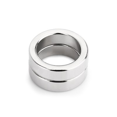 19 x 19 x 5mm N52 Powerful NdFeB Ring Style MagnetClassic Toys<br>19 x 19 x 5mm N52 Powerful NdFeB Ring Style Magnet<br><br>Appliable Crowd: Unisex<br>Materials: Other<br>Nature: Magnet<br>Package Contents: 2 x Magnet<br>Package size: 8.00 x 3.00 x 2.00 cm / 3.15 x 1.18 x 0.79 inches<br>Package weight: 0.033 kg<br>Product size: 1.90 x 1.90 x 0.50 cm / 0.75 x 0.75 x 0.2 inches<br>Product weight: 0.030 kg<br>Specification: Chinese