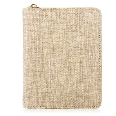 Delicate Linen Notebook