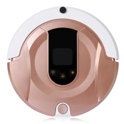 Aosder FR - 8 Smart Robotic Vacuum CleanerRobot Vacuum<br>Aosder FR - 8 Smart Robotic Vacuum Cleaner<br><br>Accessories Types: Filter,Invisible Wall,Remote Controller,Water Tank<br>Battery Capacity: 2000mAh<br>Battery Type: Li-ion rechargeable battery<br>Battery Voltage: 14.8V<br>Brand: Aosder<br>Charging Time: 4 - 5h<br>Cleaning Area (sq.m.): 150 - 180<br>Cleaning Modes: spot cleaning, Automatic cleaning<br>Climb Capability: 2cm<br>Dust Box Capacity: 370ml<br>Frequency (Hz): 55<br>Function: Sweep, Suction, Mopping<br>Input Voltage (V)  : 100 - 240<br>LCD Display: Yes<br>Material             : ABS<br>Noise (dB): Less than 60<br>Package Contents: 1 x Robotic Vacuum Cleaner, 1 x Charging Base, 1 x Invisible Wall, 1 x Remote Controller, 2 x Filter, 1 x Dust Brush, 4 x Side Brush, 1 x Adapter, 1 x English User Manual, 1 x Water Tank<br>Package size (L x W x H): 47.50 x 16.80 x 40.00 cm / 18.7 x 6.61 x 15.75 inches<br>Package weight: 4.4750 kg<br>Power (W): 19<br>Product size (L x W x H): 32.00 x 32.00 x 10.00 cm / 12.6 x 12.6 x 3.94 inches<br>Product weight: 2.7800 kg<br>Remote Control: Yes<br>Remote Controller Power Source: 2 x AAA battery<br>Self Recharging: Yes<br>Suction (pa): 800<br>Water Tank Capacity: 180ml<br>Working Temperature: -10 to 45 Degrees Celsius<br>Working Time: 90 - 120min