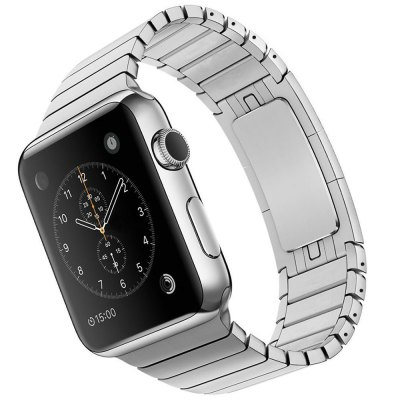 Stainless Steel Watch BandApple Watch Bands<br>Stainless Steel Watch Band<br><br>Color: Black,Silver<br>Function: for Apple Watch 38mm<br>Material: Stainless Steel<br>Package Contents: 1 x Watchband, 1 x Pin<br>Package size: 24.50 x 7.90 x 1.60 cm / 9.65 x 3.11 x 0.63 inches<br>Package weight: 0.090 kg<br>Product size: 18.40 x 3.20 x 0.30 cm / 7.24 x 1.26 x 0.12 inches<br>Product weight: 0.068 kg
