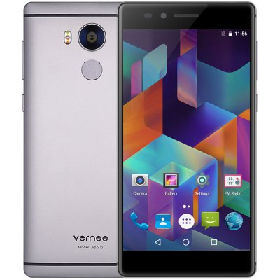 Vernee Apollo 4G PhabletCell phones<br>Vernee Apollo 4G Phablet<br><br>2G: GSM 850/900/1800/1900MHz<br>3G: WCDMA 900/2100MHz<br>4G: FDD-LTE 800/1800/2100/2600MHz<br>Additional Features: 3G, 4G, Alarm, Bluetooth, Browser, Calculator, Calendar, MP4, Fingerprint recognition, Fingerprint Unlocking, GPS, MP3, Wi-Fi, People<br>Auto Focus: Yes<br>Back-camera: 21.0MP with flash light and AF<br>Battery Capacity (mAh): 3180mAh Built-in<br>Bluetooth Version: V4.0<br>Brand: Vernee<br>Camera type: Dual cameras (one front one back)<br>Cell Phone: 1<br>Cores: 2.5GHz, Deca Core<br>CPU: Helio X25<br>E-book format: TXT<br>English Manual : 1<br>External Memory: TF card up to 128GB (not included)<br>Flashlight: Yes<br>Front camera: 8.0MP<br>Games: Android APK<br>GPU: Mali T880<br>I/O Interface: 3.5mm Audio Out Port, 1 x Micro SIM Card Slot, Speaker, Micophone, 1 x Nano SIM Card Slot, TF/Micro SD Card Slot, Type-C<br>Language: Multi language<br>Music format: FLAC, AAC, MP3, WAV<br>Network type: FDD-LTE+WCDMA+GSM<br>OS: Android 6.0<br>Other: 1 x VR Box<br>Package size: 19.00 x 11.30 x 9.30 cm / 7.48 x 4.45 x 3.66 inches<br>Package weight: 0.7100 kg<br>Picture format: PNG, JPEG, BMP, GIF<br>Power Adapter: 1<br>Product size: 15.20 x 7.56 x 0.93 cm / 5.98 x 2.98 x 0.37 inches<br>Product weight: 0.1880 kg<br>RAM: 4GB RAM<br>ROM: 64GB<br>Screen resolution: 2560x1440<br>Screen size: 5.5inch<br>Screen type: Capacitive<br>Sensor: Ambient Light Sensor,Gravity Sensor,Gyroscope,Hall Sensor,Proximity Sensor<br>Service Provider: Unlocked<br>SIM Card Slot: Dual Standby, Dual SIM<br>SIM Card Type: Nano SIM Card, Micro SIM Card<br>SIM Needle: 1<br>Touch Focus: Yes<br>Type: 4G Phablet<br>USB Cable: 1<br>Video format: MP4, 3GP, WMV<br>Video recording: Yes<br>WIFI: 802.11a/b/g/n/ac wireless internet<br>Wireless Connectivity: GSM, GPS, Bluetooth 4.0, 4G, 3G, WiFi, A-GPS