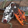 3Cr13Mov Tactical Fixed Blade Folding Claw Knife photo