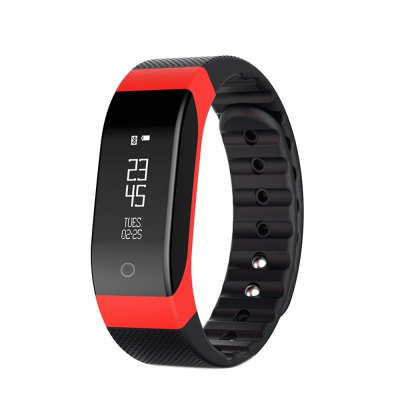 SMA - BAND Dynamic Heart Rate Monitoring Smart WristbandSmart Watches<br>SMA - BAND Dynamic Heart Rate Monitoring Smart Wristband<br><br>Brand: SMA<br>Bluetooth version: Bluetooth 4.0<br>Language: Cesky,Danish,English,German,Hebrew,Korean,Polish,Russian,Simplified Chinese,Spanish,Vietnamese<br>Waterproof: Yes<br>IP rating: IP65<br>Screen type: OLED<br>Operating mode: Touch Screen<br>Compatible OS: Android,IOS<br>Compatability: Android 4.3 / iOS 7.0 System and Above System<br>People: Female table,Male table<br>Available color: Black,Blue,Purple,Red<br>Type of battery: Li-polymer Battery<br>Battery Capacty: 90mA<br>Standby time: 240 Hours<br>Charging time: About 3hours<br>Functions: Alarm Clock,Call reminder,Calories burned measuring,Measurement of heart rate,Pedometer,Sedentary reminder,Sleep management,SMS Reminding<br>Notification type: Wechat<br>Alert type: Vibration<br>Shape of the dial: Rectangle<br>Case material: TPU<br>Band material: Rubber<br>Dial size: 4 x 1.8 x 1.0 cm / 1.57 x 0.71 x 0.39 inches<br>Band size: 20 x 1.8 cm / 7.87 x 0.71 inches<br>Product weight: 0.025 kg<br>Package weight: 0.132 kg<br>Product size (L x W x H): 23.00 x 1.80 x 1.00 cm / 9.06 x 0.71 x 0.39 inches<br>Package size (L x W x H): 13.00 x 6.50 x 6.50 cm / 5.12 x 2.56 x 2.56 inches<br>Package Contents: 1 x SMA - BAND Smart Wristband, 1 x USB Charging Cable, 1 x English User Manual