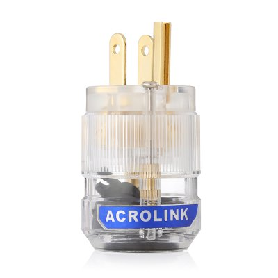 Acrolink HiFi Audio US AC Power Connector Plug for DIY