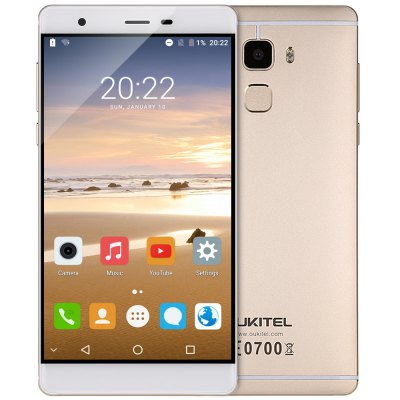 OUKITEL U13 4G Phablet  –  CHAMPAGNE GOLD
