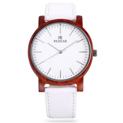 REDEAR SJ1624 - 10 Unisex Wooden Case Quartz WatchUnisex Watches<br>REDEAR SJ1624 - 10 Unisex Wooden Case Quartz Watch<br><br>Band material: PU Leather<br>Band size: 24 x 2 cm / 9.45 x 0.79 inches<br>Case material: Wood<br>Clasp type: Pin buckle<br>Dial size: 4 x 4 x 1.1 cm / 1.57 x 1.57 x 0.43 inches<br>Display type: Analog<br>Movement type: Quartz watch<br>Package Contents: 1 x REDEAR SJ1624 - 10 Unisex Quartz Watch<br>Package size (L x W x H): 25.00 x 5.00 x 2.10 cm / 9.84 x 1.97 x 0.83 inches<br>Package weight: 0.070 kg<br>People: Female table,Male table<br>Product size (L x W x H): 24.00 x 4.00 x 1.10 cm / 9.45 x 1.57 x 0.43 inches<br>Product weight: 0.030 kg<br>Shape of the dial: Round<br>Watch color: Black, White, Colormix<br>Watch style: Fashion<br>Wearable length: 17.6 - 21.8 cm / 6.93 - 8.58 inches