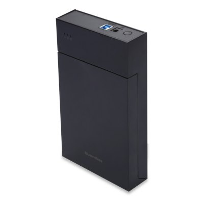 Blueendless BS - MR35T Portable Hard Drive EnclosureHDD &amp; SSD<br>Blueendless BS - MR35T Portable Hard Drive Enclosure<br><br>Brand: Blueendless<br>Control Chip: JMS567<br>External Interface: USB3.0<br>Hot Plug: Support<br>Model: BS - MR35T<br>Package Size(L x W x H): 21.50 x 18.20 x 6.20 cm / 8.46 x 7.17 x 2.44 inches<br>Package weight: 0.508 kg<br>Packing List: 1 x Hard Drive Enclosure, 1 x Power Supply, 1 x USB Cable, 1 x Chinese Manual<br>Product Size(L x W x H): 19.50 x 12.00 x 3.30 cm / 7.68 x 4.72 x 1.3 inches<br>Product weight: 0.362 kg<br>Size: 3.5 inch<br>Supporting Max. Hard Drive Capacity: 6TB<br>System support: Windows, Mac OS<br>Tool Free: Support
