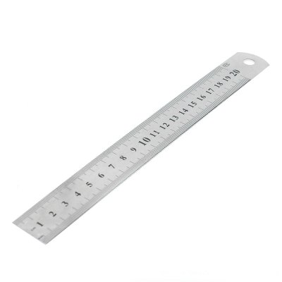20cm / 8 inch Stainless Steel Ruler School Office Stationery