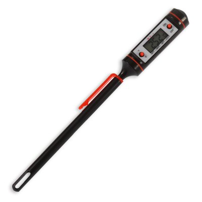 WT - 1 2PCS LCD Probe Type Digital Thermometer