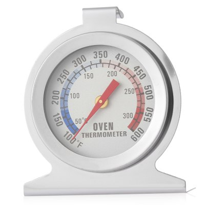 2PCS Stainless Steel Dial Oven Thermometer Kitchen Tool