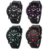 OULIJIA A2947 Male Quartz Rubber Band Watch photo