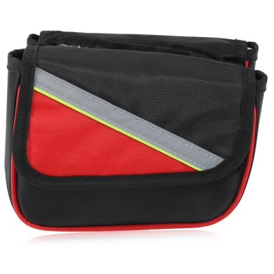 Bicycle Front Tube BagBike Bags<br>Bicycle Front Tube Bag<br><br>Emplacement: Front Tube<br>For: Unisex<br>Package Contents: 1 x Bicycle Front Tube Bag<br>Package Dimension: 29.00 x 21.00 x 6.00 cm / 11.42 x 8.27 x 2.36 inches<br>Package weight: 0.300 kg<br>Product Dimension: 20.00 x 18.00 x 14.00 cm / 7.87 x 7.09 x 5.51 inches<br>Product weight: 0.260 kg<br>Suitable for: Road Bike, Touring Bicycle, Mountain Bicycle, Fixed Gear Bicycle, Cross-Country Cycling