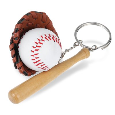 Baseball Style Key Chain Toy for Decor New Year Present