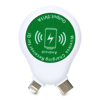3-in-1 Qi Standard Wireless Charger Receiver