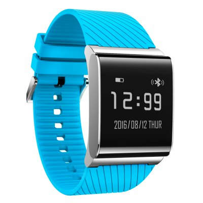 X9 Plus BLE 4.0 Smart WristbandSmart Watches<br>X9 Plus BLE 4.0 Smart Wristband<br><br>Bluetooth Version: Bluetooth 4.0<br>Waterproof: Yes<br>IP rating: IP67<br>Bluetooth calling: Phone call reminder<br>Messaging: Message reminder<br>Health tracker: Heart rate monitor,Pedometer,Sleep monitor<br>Anti-lost: Yes<br>Alert type: Vibration<br>Screen: OLED<br>Screen size: 0.95 inch<br>Operating mode: Touch Screen<br>Type of battery: Li-polymer Battery<br>Battery Capacty: 100mAh<br>Charging Time: About 90mins<br>Standby time: 7 days<br>People: Female table,Male table<br>Shape of the dial: Rectangle<br>Case material: Alloy<br>Band material: Rubber<br>Compatible OS: Android,IOS<br>Compatability: Android 4.3 / iOS 7.0 and above systems<br>Language: English,Japanese,Simplified Chinese<br>Available Color: Black,Blue,Green,Red,Silver,White<br>Dial size: 3.05 x 2.95 x 1.08 cm / 1.2 x 1.16 x 0.43 inches<br>Band size: 25.5 x 2.8 cm / 10.04 x 1.10 inches<br>Product size (L x W x H): 25.50 x 2.95 x 1.08 cm / 10.04 x 1.16 x 0.43 inches<br>Package size (L x W x H): 9.10 x 9.20 x 6.60 cm / 3.58 x 3.62 x 2.6 inches<br>Product weight: 0.048 kg<br>Package weight: 0.168 kg<br>Package Contents: 1 x X9 Plus Smart Wristband, 1 x Charging Cable, 1 x Chinese and English User Manual