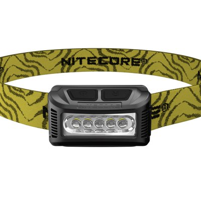 NITECORE NU10 Rechargeable LED HeadlampHeadlights<br>NITECORE NU10 Rechargeable LED Headlamp<br><br>Headlight Brand: Nitecore<br>Model: NU10<br>Main Emitters: Other<br>Emitters Quantity: 5<br>Luminous Flux: 160LM<br>Peak Beam Intensity: 310cd<br>Feature: Angle adjustment,Can be used as headlamp or bicycle light,Dual Light-source,Lightweight,Lockout Function,Power indicator light<br>Function: Camping,EDC,Fishing,Hiking,Household Use,Hunting,Night Riding,Walking<br>Switch Type: Clicky<br>Switch Location: Top<br>Mode: 5 (White Light: High - Mid - Low; Red Light On - Red Light SOS)<br>Battery Type: Lithium-ion<br>Battery Quantity: 900mAh<br>Battery Included or Not: Yes<br>Waterproof: IP66 Standard Waterproof<br>Power Source: Battery<br>Working Voltage: 3.7V<br>Working Time: Max 150h<br>Beam Distance: 0-50m<br>Beam Angle: 170 degree<br>Impact Resistance: 1.5M<br>Body Material: Polycarbonate (PC)<br>Available Light Color: White + Red<br>Color: Black,Blue,Green,Red,White,Yellow<br>Product weight: 0.046 kg<br>Package weight: 0.130 kg<br>Product size (L x W x H): 6.00 x 3.00 x 3.00 cm / 2.36 x 1.18 x 1.18 inches<br>Package size (L x W x H): 13.00 x 14.00 x 7.00 cm / 5.12 x 5.51 x 2.76 inches<br>Package Contents: 1 x NITECORE NU10 LED Headlamp, 1 x Headband, 1 x USB Cable, 1 x English Manual