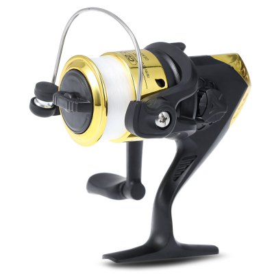 Folding Handle Design Spinning Fishing Reel with Line