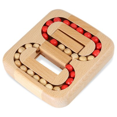 Classic Maze Style Unlock Puzzle Toy Wooden 3D Jigsaw