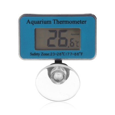 Digital LCD Aquarium Thermometer Waterproof IP66
