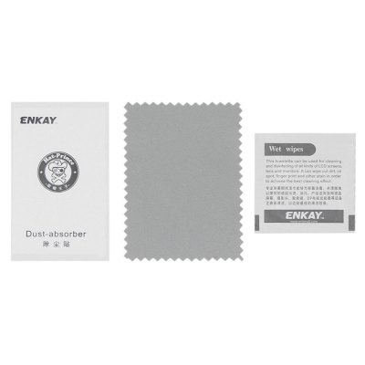 ENKAY PET Screen FilmScreen Protectors<br>ENKAY PET Screen Film<br><br>Brand: ENKAY<br>Compatible Model: for OnePlus 3T<br>Features: Ultra thin, High-definition, High Transparency, High sensitivity, Anti scratch<br>Material: PET<br>Package Contents: 1 x Screen Film, 1 x Dust Remover, 1 x Wet Wipes, 1 x Cloth<br>Package size (L x W x H): 17.00 x 11.00 x 1.10 cm / 6.69 x 4.33 x 0.43 inches<br>Package weight: 0.0330 kg<br>Product Size(L x W x H): 14.40 x 6.50 x 0.01 cm / 5.67 x 2.56 x 0 inches<br>Product weight: 0.0020 kg<br>Thickness: 0.1mm<br>Type: Screen Protector