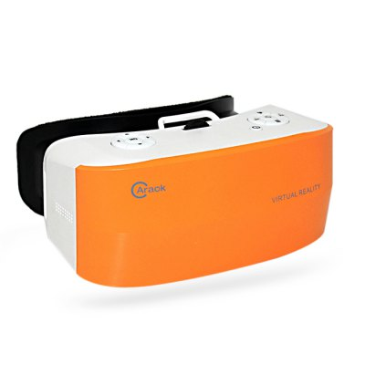 Caraok V9 5.5 inch 720P All-in-one VR 3D HeadsetAll in one VR<br>Caraok V9 5.5 inch 720P All-in-one VR 3D Headset<br><br>Brand: Caraok<br>Model: V9<br>VR Glasses Type: VR Headset<br>Compatible with: Built-in System<br>Material: ABS,Foam<br>Interface: 3.5mm audio jack,Micro USB,TF Card Slot,USB interface<br>Primary Button Type: Button<br>Features: Gamer-friendly<br>GPU: Mali400MP2<br>RAM: 1GB<br>ROM: 8GB<br>Max External Card Supported: TF 32G (not included)<br>WIFI: 802.11b/g<br>Bluetooth: Yes<br>Bluetooth version: Bluetooth V4.0<br>Operating system: Android<br>Screen type: TFT<br>Screen size: 5.5 inch<br>Screen resolution: 1280 x 720 (HD)<br>FPS (frame per second): 60Hz<br>Material (Lens): PMMA<br>Lens Structure: Optical aspherical lens<br>FOV Range: 90 - 110 degree<br>FOV: 95 degrees<br>IPD Adjustment: Yes<br>IPD (Interpupillary distance): 64 - 76mm<br>Focus Adjustment: Yes<br>Space for Glasses: Yes<br>Video format: H.263,H.264,MPEG2<br>Video Resolution: 1080P, 1080i, 720P, 576P, 576i, 480P, 480i<br>Audio format: AAC,MP3,WMA<br>Battery: 3200mAh Li-polymer battery<br>Power Supply: DC 5V / 2A<br>Product weight: 0.398 kg<br>Package weight: 0.880 kg<br>Product size (L x W x H): 18.40 x 12.00 x 8.20 cm / 7.24 x 4.72 x 3.23 inches<br>Package size (L x W x H): 24.00 x 16.20 x 10.30 cm / 9.45 x 6.38 x 4.06 inches<br>Package Contents: 1 x V9 All-in-one VR 3D Headset, 1 x Power Adapter, 1 x Headband, 1 x In-ear Earphones, 1 x USB Charge Cable, 1 x English User Manual, 1 x Clean Cloth