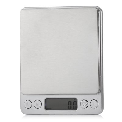 M - 8008 Digital ScaleDigital Scales<br>M - 8008 Digital Scale<br><br>Material             : Others<br>Model: M - 8008<br>Package Contents: 1 x Digital Jewelry Scale ( with Battery ), 2 x Tray, 1 x English and Chinese User Manual<br>Package size (L x W x H): 15.80 x 13.00 x 3.00 cm / 6.22 x 5.12 x 1.18 inches<br>Package weight: 0.3200 kg<br>Product size (L x W x H): 12.70 x 10.50 x 1.50 cm / 5 x 4.13 x 0.59 inches<br>Product weight: 0.2310 kg<br>Type: Digital Scale