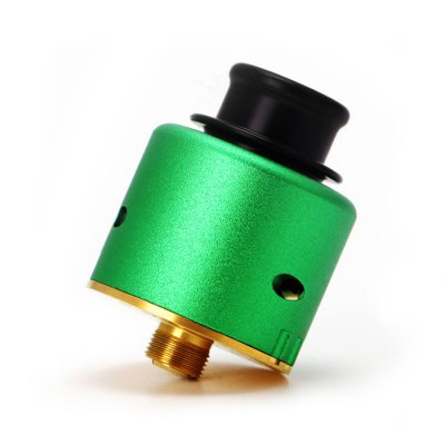 Original ADVKEN Ziggs V2 RDARebuildable Atomizers<br>Original ADVKEN Ziggs V2 RDA<br><br>Available Color: Black,Blue,Gold,Green,Red<br>Brand: ADVKEN<br>Material: Al-sc alloy<br>Model: Ziggs V2<br>Overall Diameter: 24mm<br>Package Contents: 1 x ADVKEN Ziggs V2 RDA, 1 x Accessory Bag<br>Package size (L x W x H): 8.00 x 4.00 x 4.00 cm / 3.15 x 1.57 x 1.57 inches<br>Package weight: 0.140 kg<br>Product size (L x W x H): 3.50 x 2.40 x 2.40 cm / 1.38 x 0.94 x 0.94 inches<br>Product weight: 0.055 kg<br>Rebuildable Atomizer: RBA,RDA<br>Thread: 510<br>Type: Rebuildable Tanks, Rebuildable Drippers