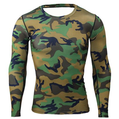 Long Sleeve Tattoo T ShirtsWeight Lifting Clothes<br>Long Sleeve Tattoo T Shirts<br><br>Features: Breathable, High elasticity, Quick Dry<br>Gender: Men<br>Material: Polyester<br>Package Content: 1 x T-shirt<br>Package size: 36.00 x 24.00 x 2.00 cm / 14.17 x 9.45 x 0.79 inches<br>Package weight: 0.2350 kg<br>Product weight: 0.1800 kg<br>Size: 2XL,3XL,L,M,XL<br>Types: Long Sleeves