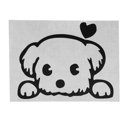 Cute Dog Style Wallpaper Switch Sticker Wall Decoration