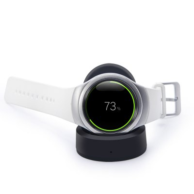 Desktop Qi Wireless Charging Dock Charger Stand for Samsung S2 Gear Watch