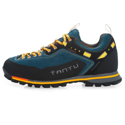 TANTU Hiking ShoesAthletic Shoes<br>TANTU Hiking Shoes<br><br>Available Size: 39, 40, 41, 42, 43, 44, 45, 46<br>Brand: TANTU<br>Closure Type: Lace-Up<br>Color: Blue,Brown,Gray<br>Features: Breathable, Crashworthy, Durable, Shock-absorbing, Sweat-absorbing, Water Resistant, Anti-slip<br>Gender: Men<br>Highlights: Sweat Absorbing, Soft, Breathable<br>Package Contents: 1 x Pair of TANTU Hiking Shoes<br>Package size: 32.00 x 23.00 x 12.00 cm / 12.6 x 9.06 x 4.72 inches<br>Package weight: 1.200 kg<br>Product weight: 0.930 kg<br>Season: Winter, Autumn<br>Sole Material: Rubber<br>Type: Hiking Shoes<br>Upper Height: Middle