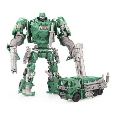 2 in 1 Transformable Transform 3D ABS Robot Vehicle