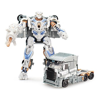 Transform Robot Vehicle Puzzle ABS Toy