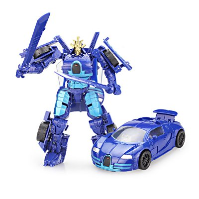 2 in 1 Animation Transformable ABS Robot Vehicle