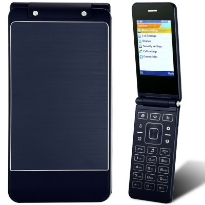 HTM G2016 Flip PhoneFeatured Phones<br>HTM G2016 Flip Phone<br><br>Brand: HTM<br>Type: Flip Phone<br>RAM: 64MB<br>ROM: 64MB<br>External Memory: TF card up to 16GB (not included)<br>Network type: GSM<br>Frequency: GSM 850/900/1800/1900MHz<br>Screen size: 2.8 inch<br>Screen resolution: 240x320<br>Camera type: Single camera<br>Back-camera: 0.08MP ( SW 0.3MP )<br>SIM Card Slot: Dual SIM,Dual Standby<br>TF card slot: Yes<br>Micro USB Slot: Yes<br>Music format: MP3<br>Video format: MP4<br>Languages: English,French,Spanish,Russian,Italian,German,Portuguese<br>Additional Features: Bluetooth,FM,MP3,MP4<br>Cell Phone: 1<br>Battery: 1 x 800mAh<br>Power Adapter: 1<br>USB Cable: 1<br>English Manual : 1<br>Product size: 11.10 x 5.50 x 1.40 cm / 4.37 x 2.17 x 0.55 inches<br>Package size: 14.00 x 10.00 x 7.60 cm / 5.51 x 3.94 x 2.99 inches<br>Product weight: 0.098 kg<br>Package weight: 0.244 kg
