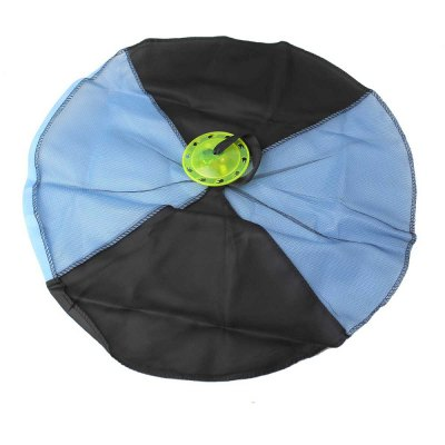 Hand throwing parachute for kid outdoor play game toy...