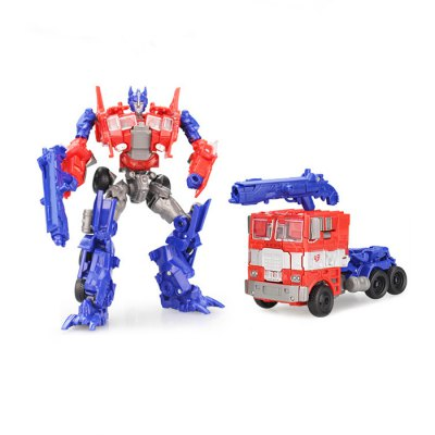 Transformable Transform 3D ABS Robot VehicleMovies &amp; TV Action Figures<br>Transformable Transform 3D ABS Robot Vehicle<br><br>Completeness: Finished Goods<br>Gender: Unisex<br>Materials: ABS, Other<br>Package Contents: 1 x Robot<br>Package size: 22.00 x 9.50 x 27.00 cm / 8.66 x 3.74 x 10.63 inches<br>Package weight: 0.450 kg<br>Product size: 12.00 x 6.00 x 17.50 cm / 4.72 x 2.36 x 6.89 inches<br>Product weight: 0.180 kg<br>Stem From: Japan<br>Theme: Robot