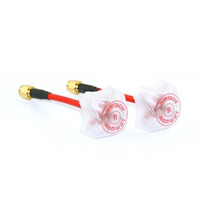 Aomway 5.8G 3dBi Clover-leaf FPV AntennaAntenna<br>Aomway 5.8G 3dBi Clover-leaf FPV Antenna<br><br>Brand: Aomway<br>FPV Equipments: FPV Antenna<br>Package Contents: 2 x Antenna<br>Package size (L x W x H): 12.00 x 17.00 x 3.00 cm / 4.72 x 6.69 x 1.18 inches<br>Package weight: 0.1410 kg